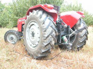 compresor con tractor